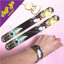 Commercial crafts blank slap band / snap bracelet on sale
