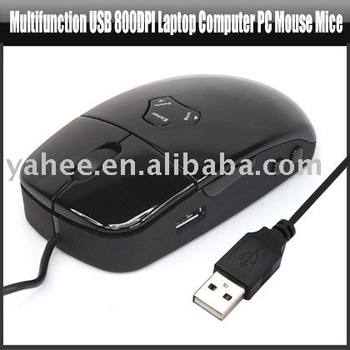 Multifunction USB 800DPI Laptop Computer PC Mouse Mice,YAN105A