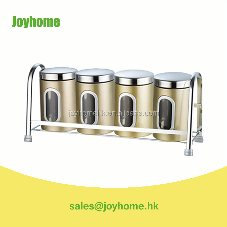 China wholesale high quality kitchen canister see through canister