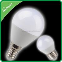 Plastic+aluminum CE ROHS globe 5W e27 led light bulb