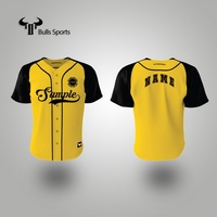 Cost price super quality 5xl blank baseball jersey custom