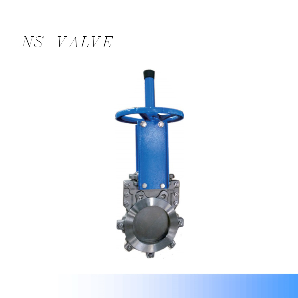 SS304 QM Bi-directional medium pressure knife gate valve