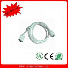 China manufacturer Custom length vga cable 15 pin to 15pin