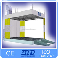 car garage equipment preparation station for cars sanding room spray booth paint booth cabina de pintura