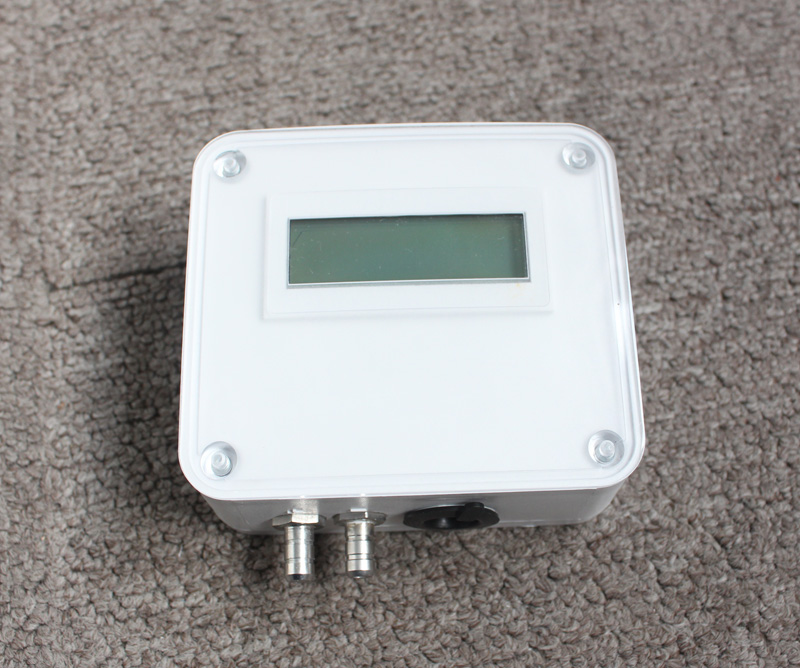 Micro adjustable Differential Pressure transducer/sensor with LCD display
