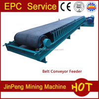 preparation equipment ore processing machine beilt feeder mining equipment for feeding ore in mineral processing plant