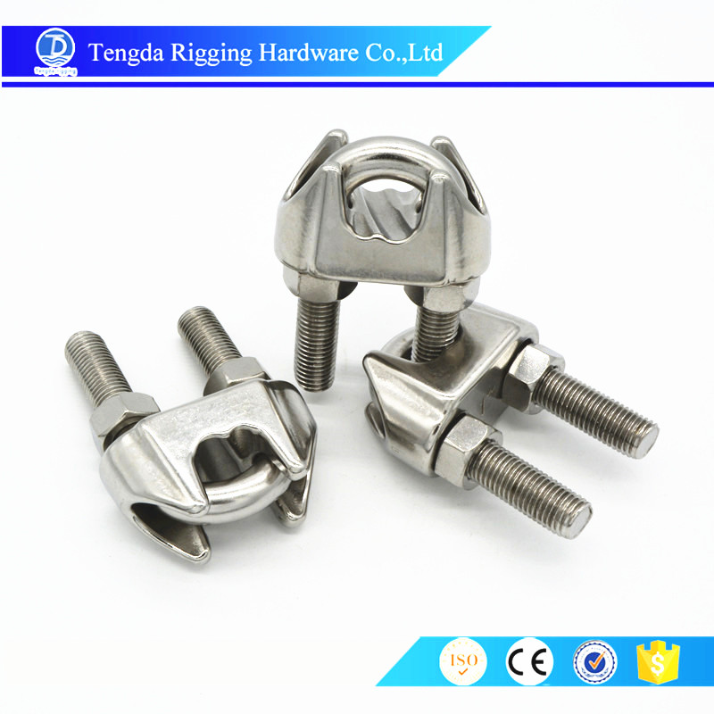 Stainless Steel US Type Malleable Wire Rope Clip Clamp