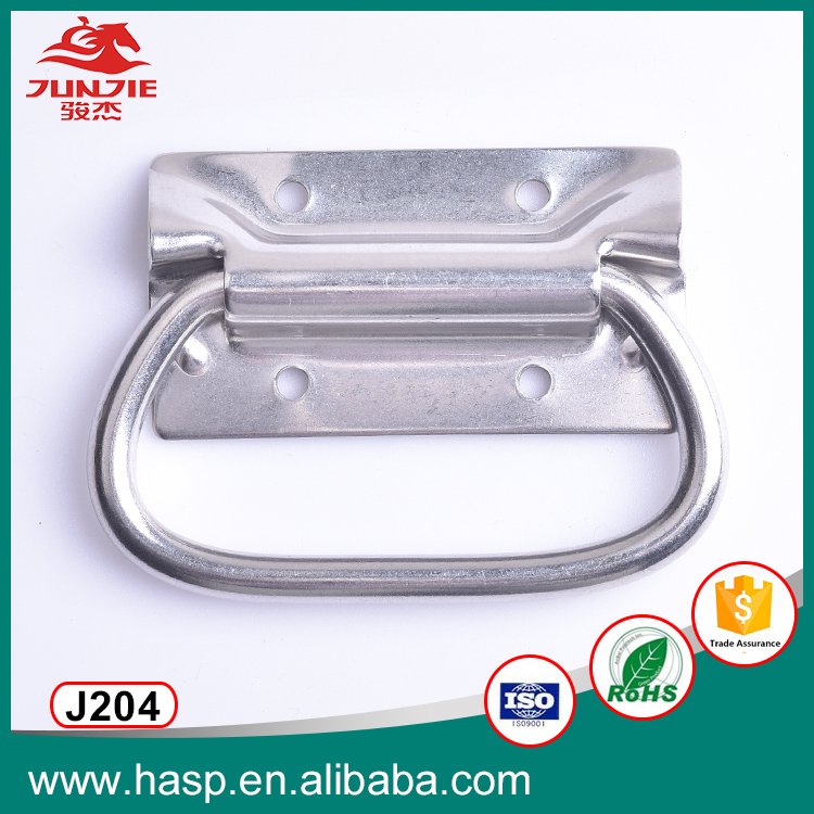 thick metal carry handle for shipping chest tool box handle J204