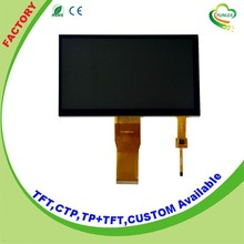 Multi 5 <strong>points</strong> 7 inch 800x480 touch screen display with high luminance