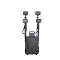 144w heavy duty rechargeable led searchlight led industrial light tower