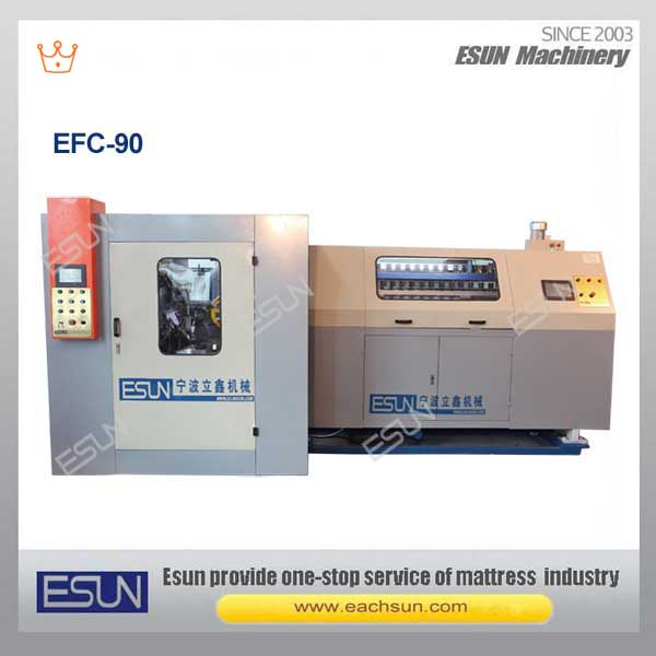 EFC-90 Automatic Spring Mattress Machine Mattress Manufacturing Machine