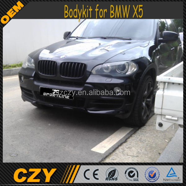 PP Auto Bodykits X5 Body kits for BMW X5 E70 08-10