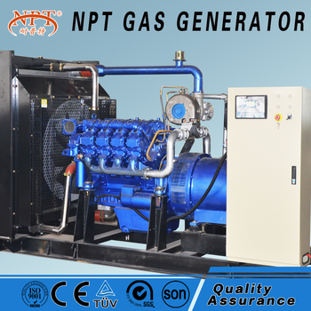 CE Approved 100KW Wood Syngas Generator