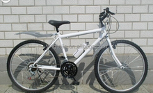 26 mountain bicycle with aluminum rim and rear fender for sale
