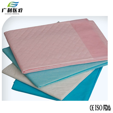 disposable adult underpad hospital bed pad for incontinence