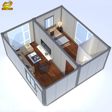 Latest Designed Easy Transport Prefabricated Container House
