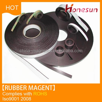 Rubber Magnet Composite rare earth magnetic strip