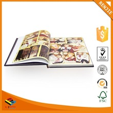 Top Quality Offset Printing Custom Design Hardcover Book