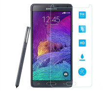 China wholesale tempered glass screen protector for Samsung Note2