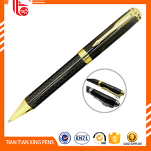 Wholesale branded pen with rhinestone,hot sales bic pen made in grade carbonfiber