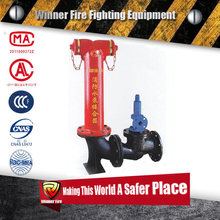 Over-ground Type Fire Pump Siamese Connection