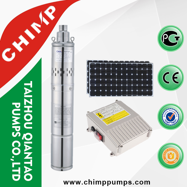 "solar water pump for agriculture 3"" stainless steel submersible solar water pump"