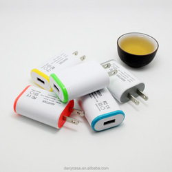 Micro usb wall charger / travel charger 5V 1A for S4 S5 note 2 note 3