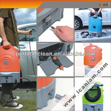 multi-functional 17L capacity rechargeable 12V portable car wash