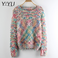 Popular Cute knitted pretty christmas jumper pullover sweater for women