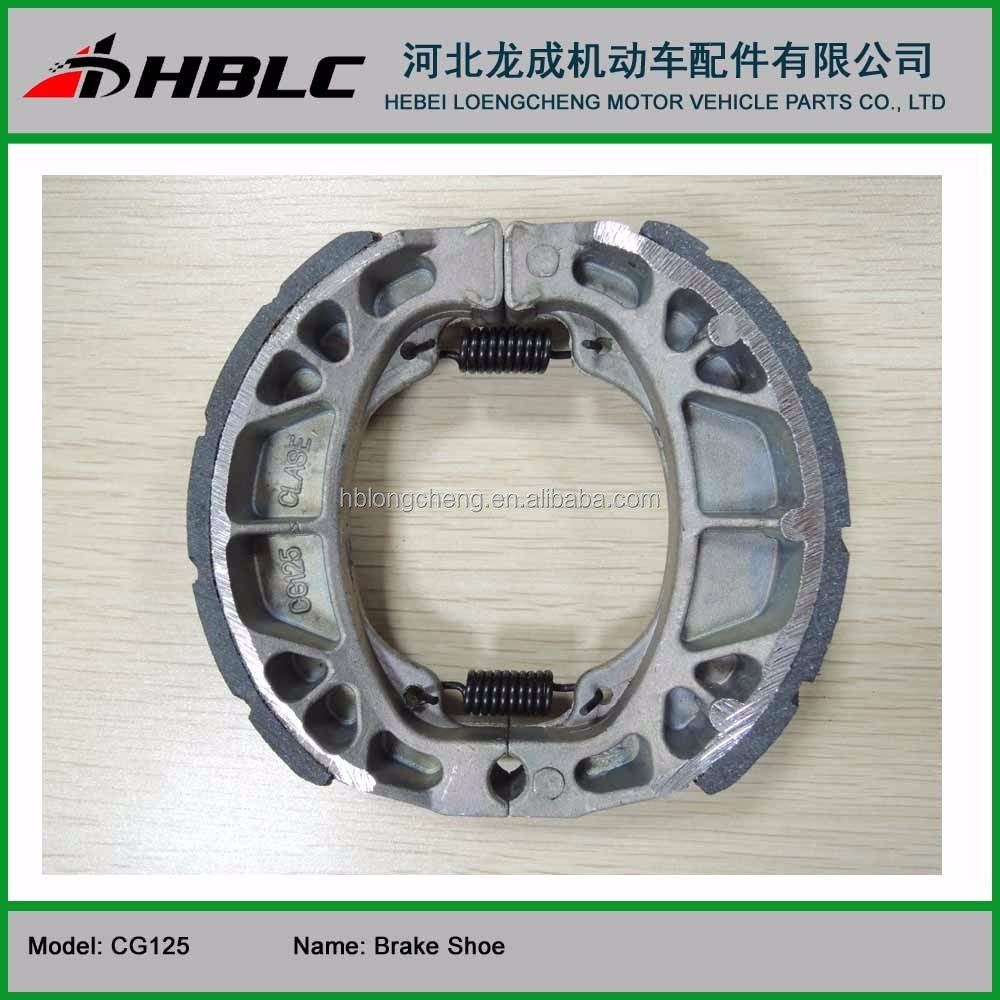 motorcycle parts brake shoe for CG125