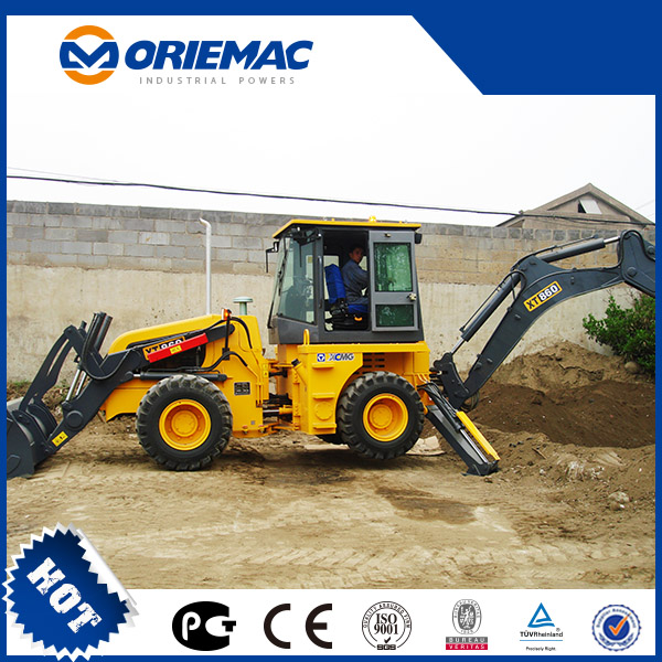 XCMG Hot Sale 8 ton Backhoe Loader XT864 with Cheap Price