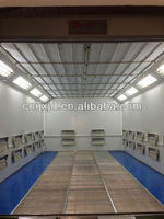 Automobile Car Body Paint Spray Booth wood finishing booths