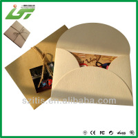 High quality cardboard gold kraft envelope wholesale in Shenzhen