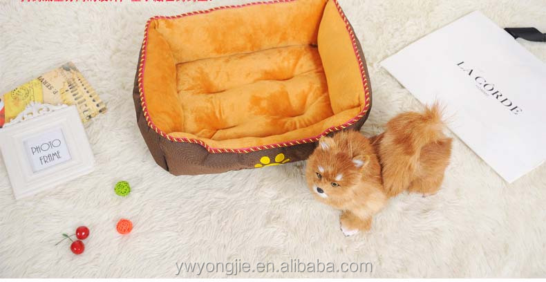 High Quality Plush Pet Beds Luxury Memory Foam Dog Beds Wholesale
