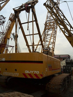 Used XCMG crawler crane 70 ton for sale, QUY70