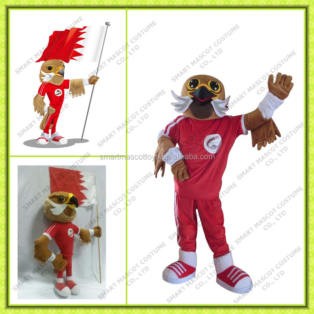 promotional bird sports mascot doll toys sports costume custom make