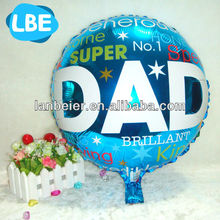 helium foil balloons as fathers day promotional gifts