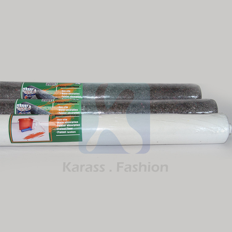White Polyester Cotton Industrial Felt Fabric Rolls