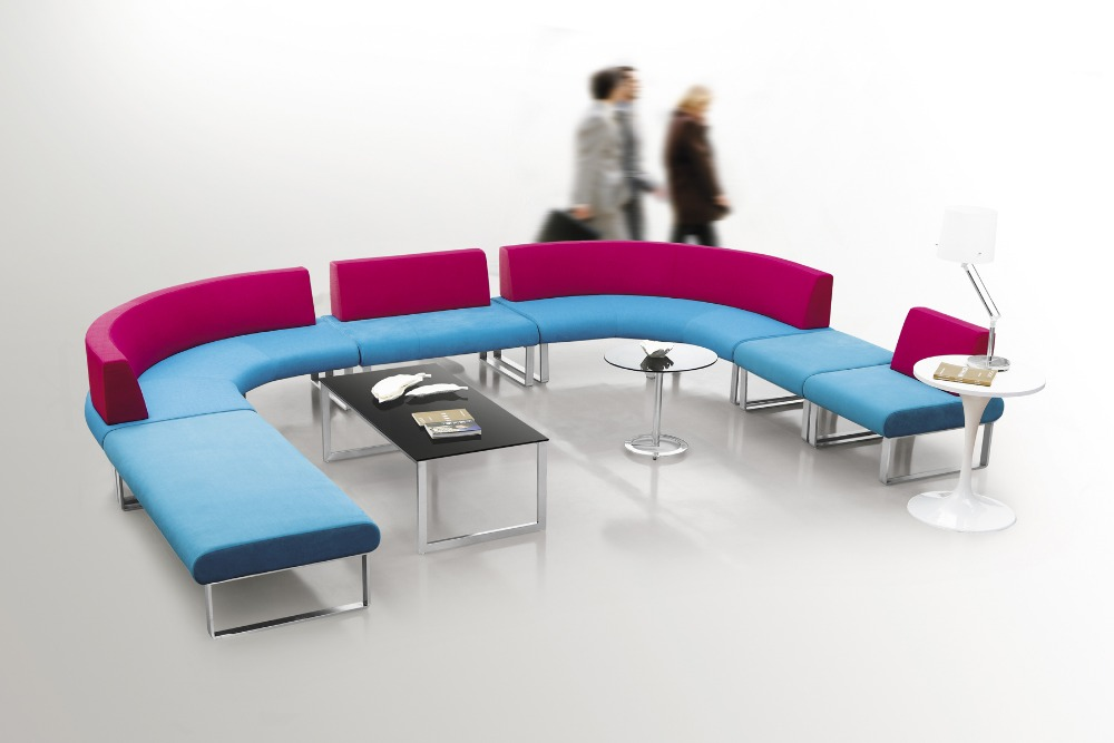 Modern colorful fabric hotel lunch breakout library coffee shop ...