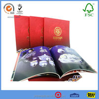 Handy Good Quality Perfect Binding Magazine Printing With New Design