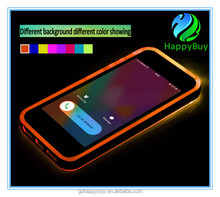 High quality phone case incoming call with twinkle light for iphone 6 case and 6plus PC+TPU material for iphone case