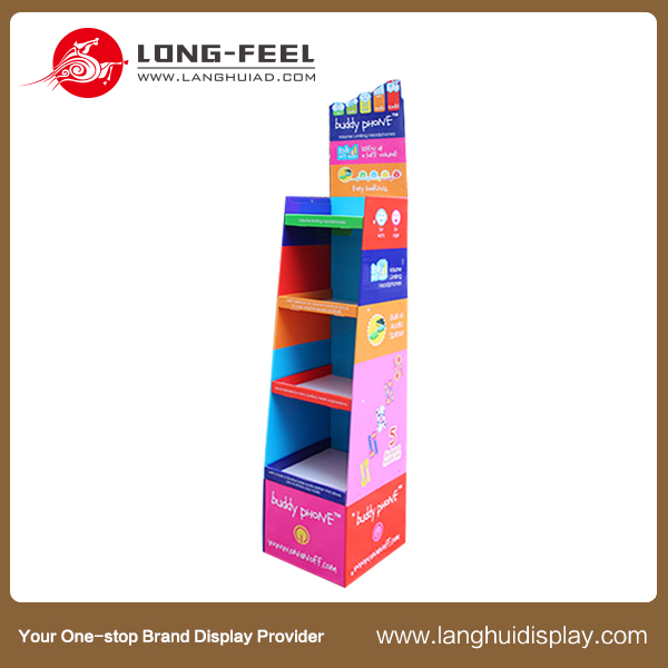 new products cardboard t shirt display stand