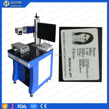 laser engraver id printing photo and font on plastic id card