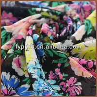 Factory Direct High Quality Silk Material Custom Printed Georgette Fabrics For Dress