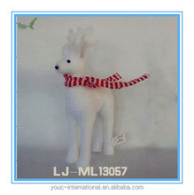 Handmade Christmas Tree Decoration Standing Reindeer