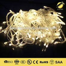 christmas led string light wedding party decorative lighting 110v or 220v standard led curtain string light