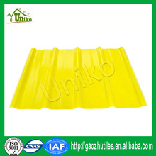 2.5mm best price cheap anti-slip 23um anti-aging film frp roofing panels for roofing