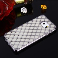 Electroplate TPU cell phone case for sansung fashion phone silicone cover