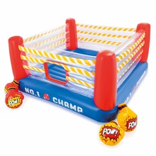 Intex 48250 Inflatable PVC Game Jump-O-Lene Boxing Ring Bouncer for kids