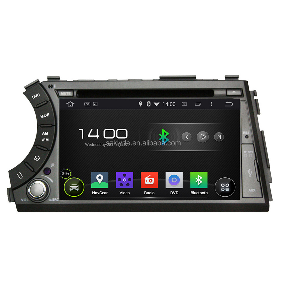 Klyde newly quad core RAM 1GB designning Actyon sports gps player with 3g wifi bluetooth FM AM Radio Ipod TV for sale